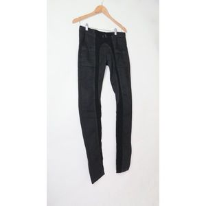 Rick Owens Drkshdw black denim leggings pants M